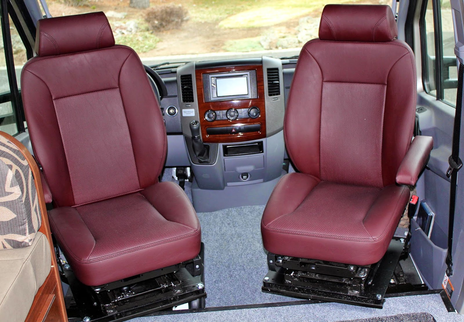 Swivel Chair Mercedes Sprinter Hanging Kit Seat Upgrade