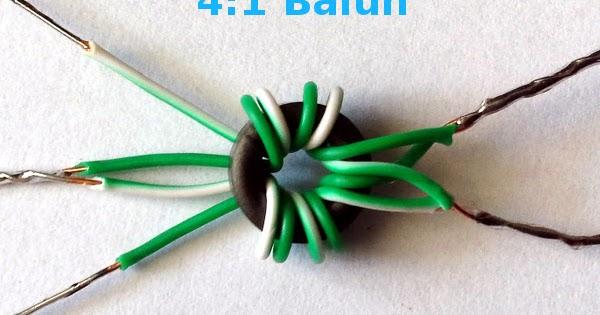 Make A Wideband Antenna Matching Transformer 183 One Transistor