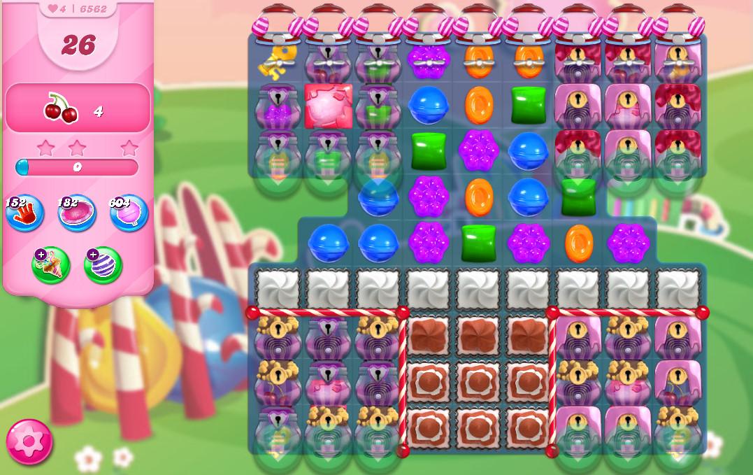 Candy Crush Saga level 6562