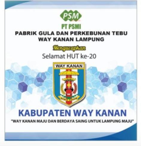 Paripurna Istimewa DPRD Kabupaten Way Kanan dalam Rangka Hari Ulang Tahun (HUT) ke-20 Kabupaten ...