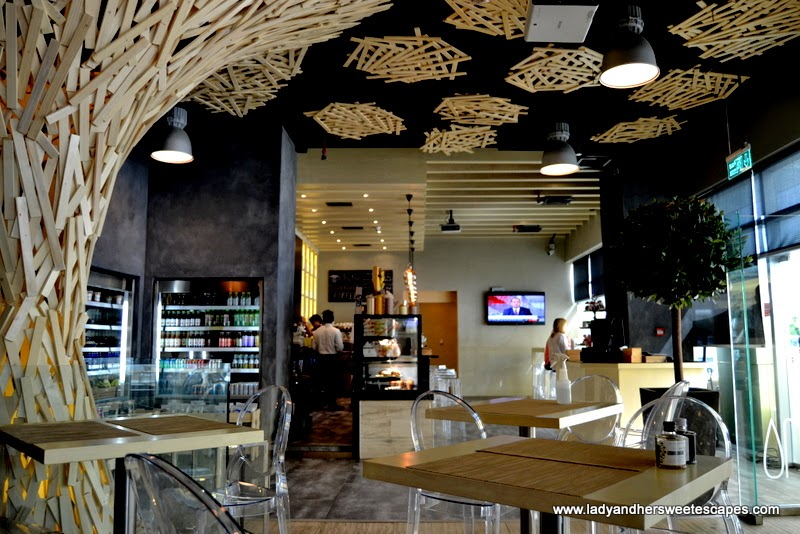 contemporary Italian restaurant in Dubai Media City