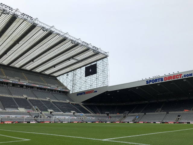 Newcastle stadium st james park