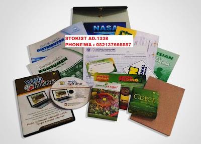 paket pendaftaran distributor nasa