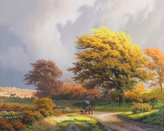 En güzel Sulu boya çalışmaları resimleri tabloları manzara
