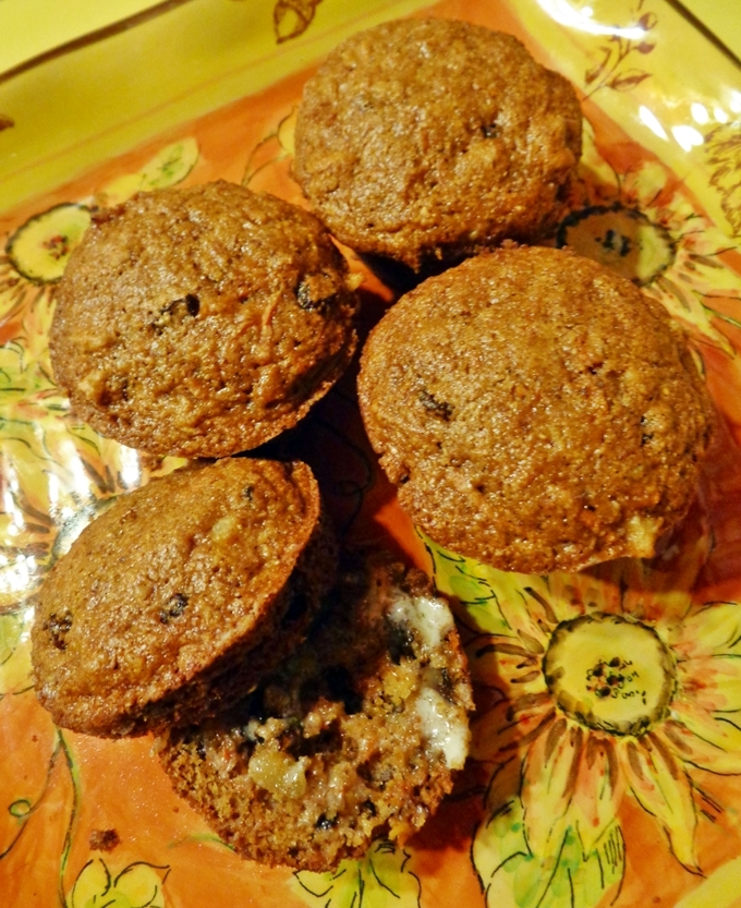 Carrot Pineapple Muffins With Cake Mix