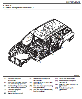 repair-manuals: Subaru Legacy BL BP Repair Manual