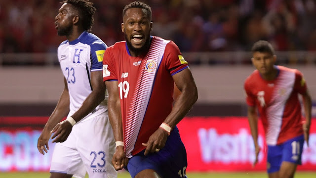El gol de Kendall Watson clasifica a Costa Rica a Rusia 2018