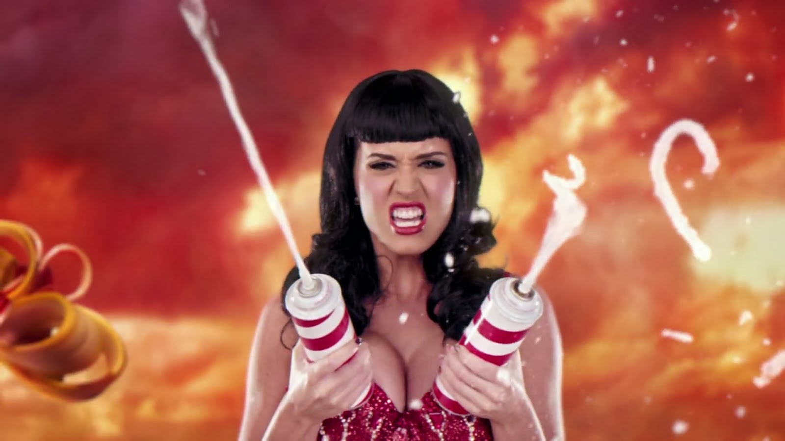 Wallpaper Katy Perry Brunette Singer California Gurls: Sexiest And Beautiful Singer Katy Perry
