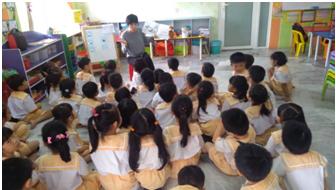 Meningkatkan kemahiran membaca dan menulis kanak-kanak, program L.I.F.E., MCRI, HELP University