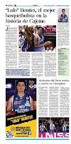 Ramsés Benitez llamado Mejor Jugador en la historia de Cajeme, Sonora.