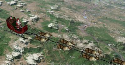 Політ Санта Клауса