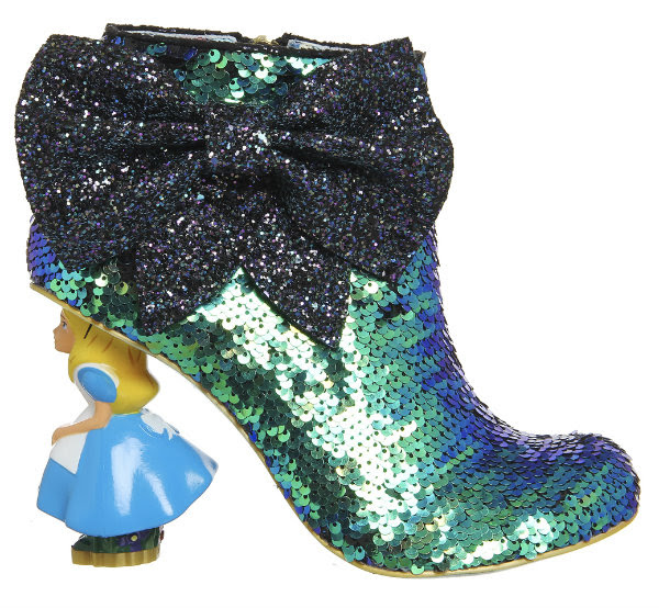 Irregular Choice Disney Alice In Wonderland Who In The World Am I? sequins