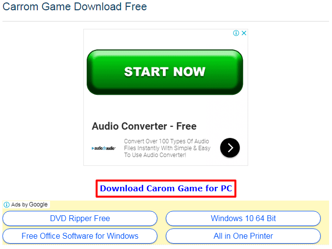 free download game carrom board pc