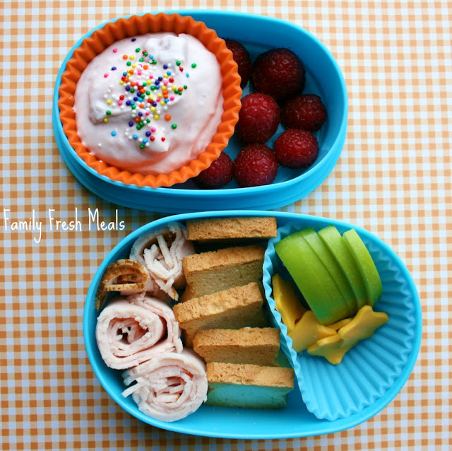DIY homemade lunchable!