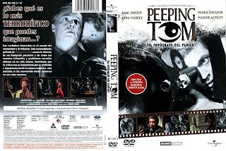 El fotógrafo del pánico (Carátula) Peeping Tom