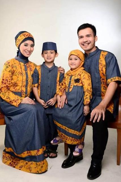 Model Busana Muslim Family Terbaru Untuk Lebaran