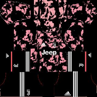 kit juventus third dream league soccer