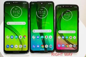 Moto G7, Moto G7 and, Moto G7 Power and Moto G7 Play