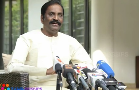 "Flag Posts are Dressed But our Farmers are ""Nude""… Vairamuthu Angry!"