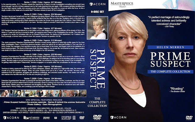 Prime Suspect The Complete Collection 9 Disc Set DVD Cover
