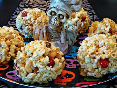 Sweet & Salty Halloween Balls