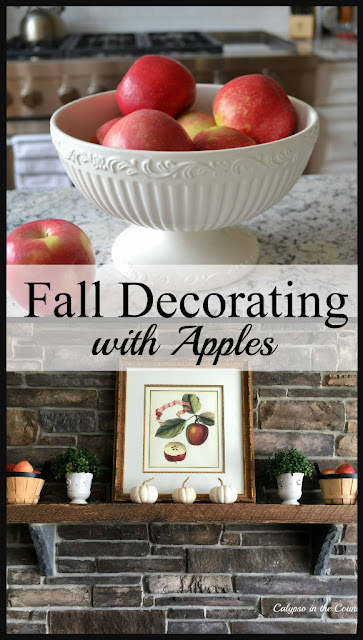 Fall Decorating Ideas with Apples