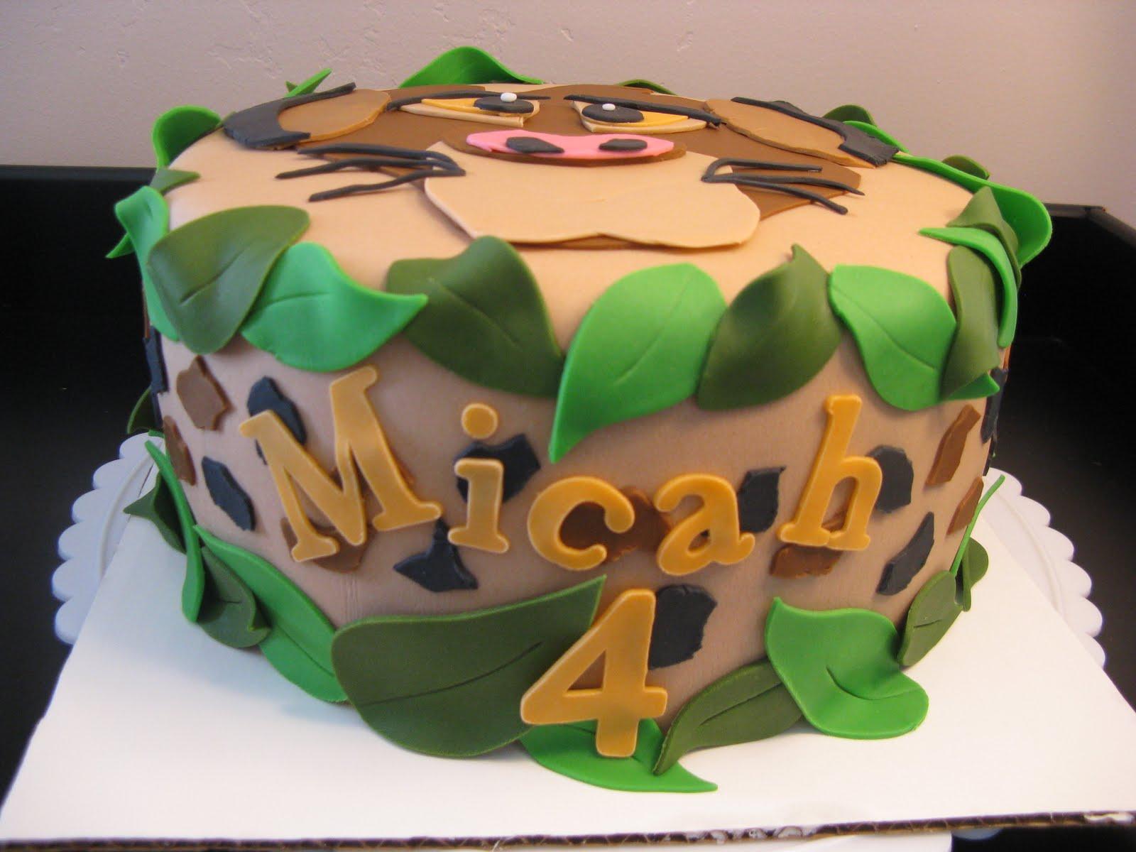 Pumba Cake: Caketastic Cakes: Simba