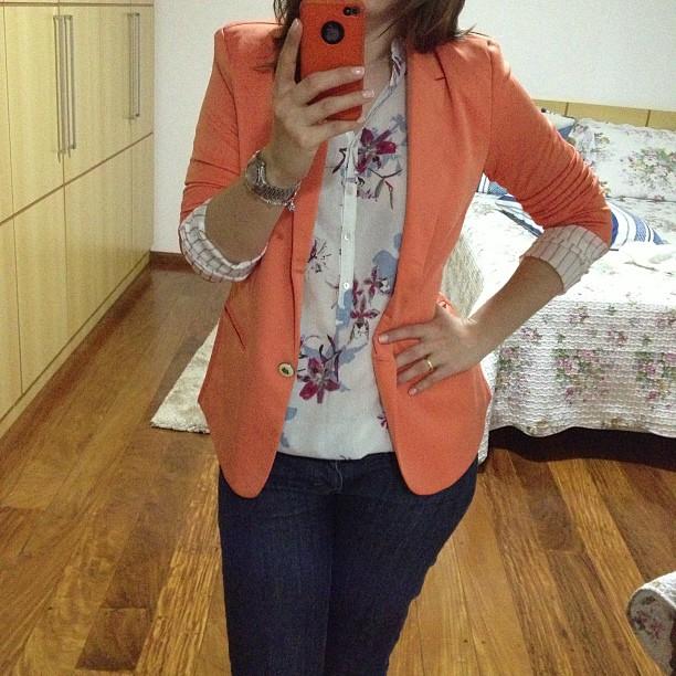 Esse blazer é super manjado entre as viciadas em ebay 8eeca816c15