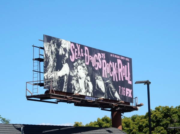 Sex & Drugs & Rock & Roll billboard