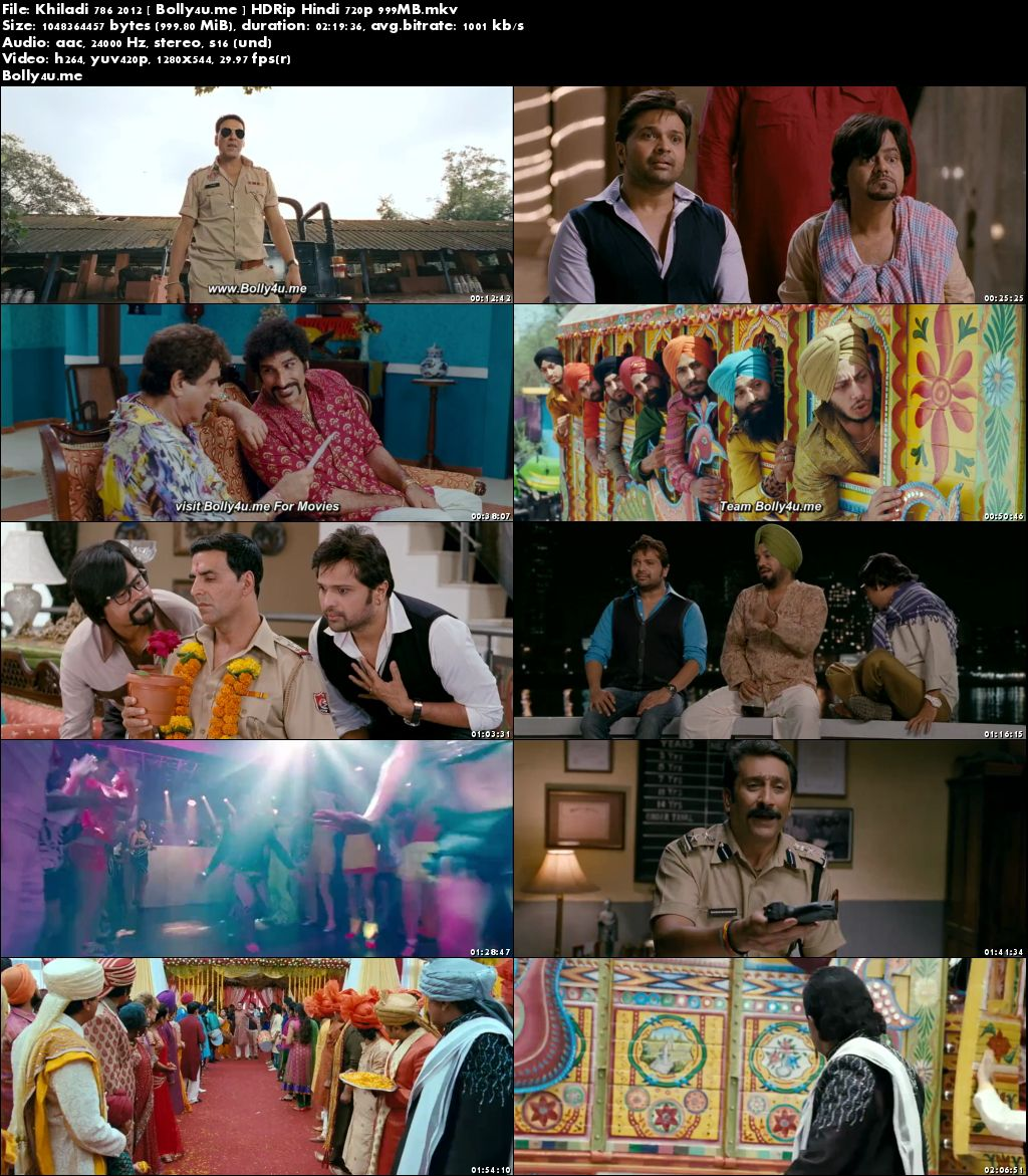 Khiladi 786 2012 HDRip 400Mb Full Hindi Movie Download 480p