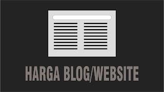 Cara Mengecek Harga blog/website