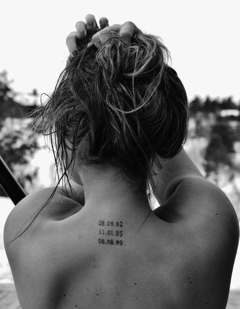 How to Get Unique Roman Numerals Tattoos