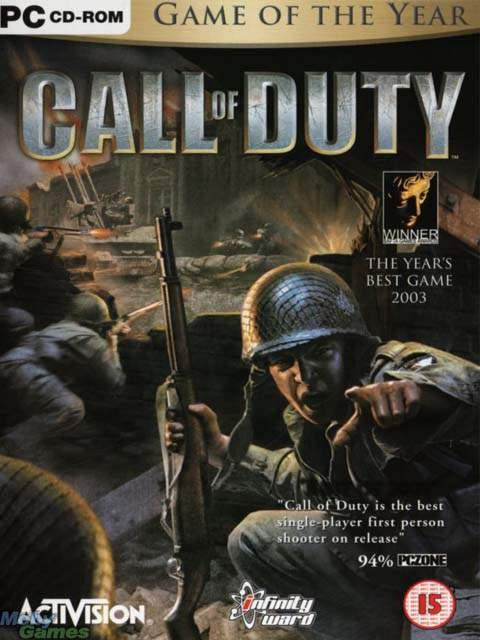تحميل لعبة Call Of Duty 1 مضغوطة برابط واحد مباشر كاملة مجانا