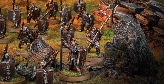 Middle Earth Strategy Game.... Building Your Armylist