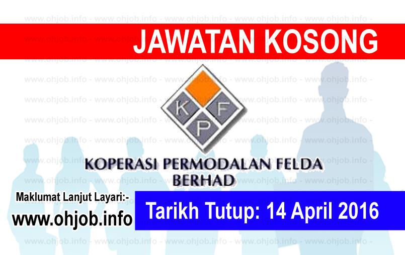 Jawatan Kerja Kosong Koperasi Permodalan Felda Malaysia Berhad logo www.ohjob.info april 2016