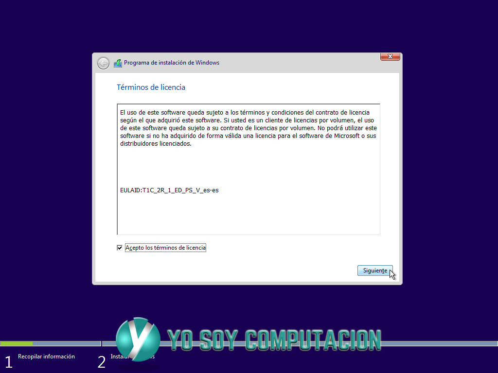 Tutorial de instalar windows 10