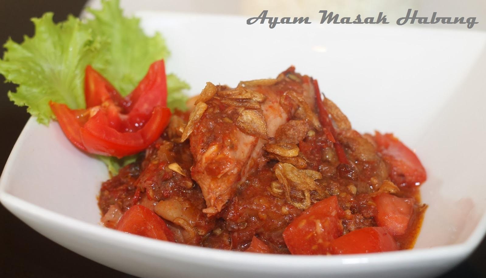 Resep Ayam Masak Habang (Samarinda)