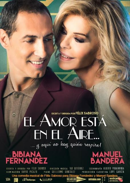 El amor está en el aire, con Bibiana Fernández y Manuel Bandera