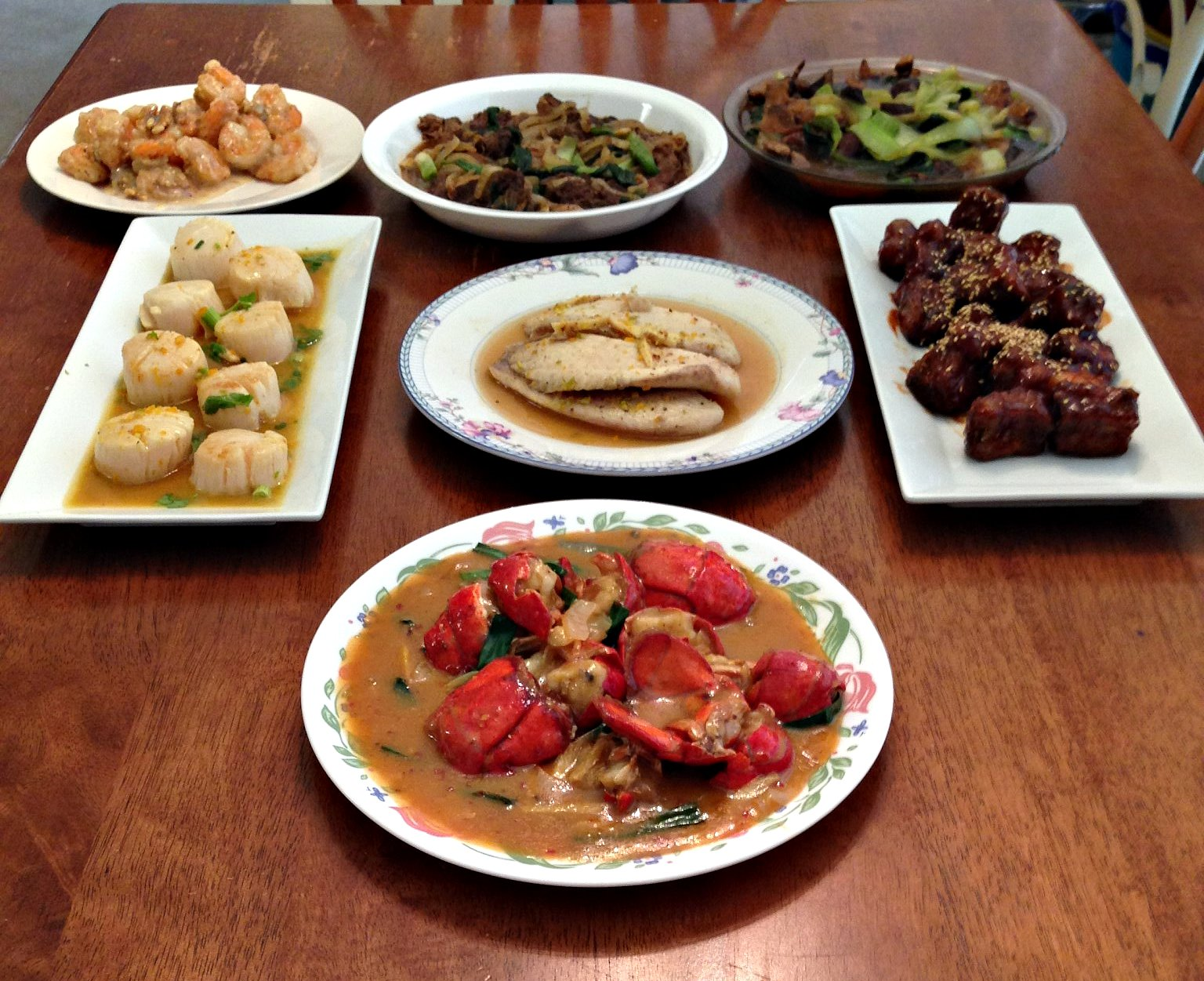 Asian family style good when
