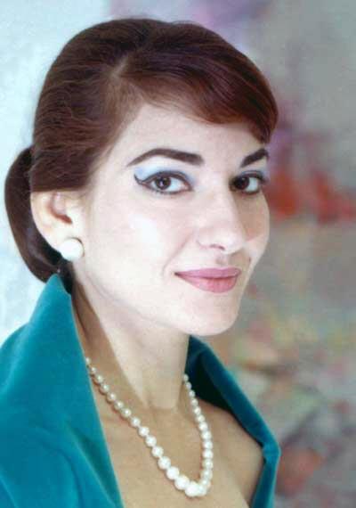 Foto de María Callas