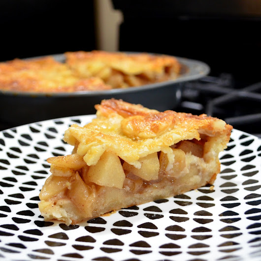 Honey Crisp Apple Pie With Cream Cheese Crust Recipe