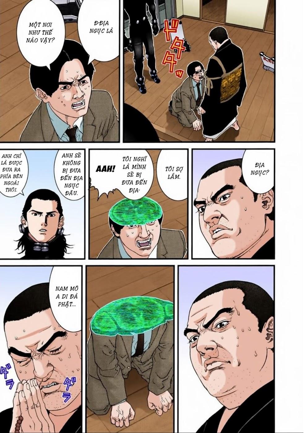 Gantz Chap 61: Cánh cổng trang 5