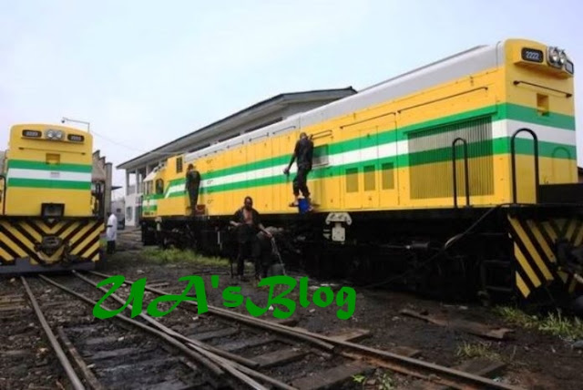 Still In The Dark Age… Nigeria Railways Lights And Air Conditioners Are Powered By Generators Carried About Inside Train Coaches