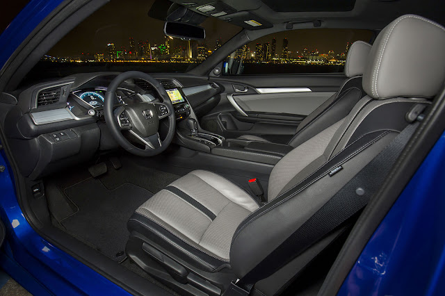 2017 civic coupe interior