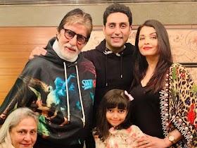 Kondisi Terkini Keluarga Amitabh Bachchan Usai Dinyatakan Positif Corona