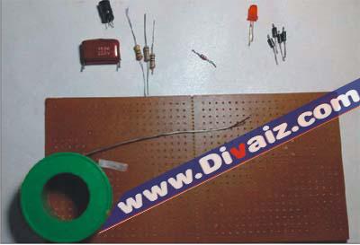 Komponen adaptor 5v tanpa Trafo - www.divaiz.com