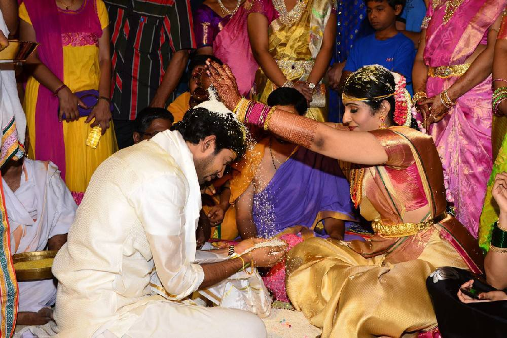 Allari Naresh Wedding Photos