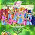 Calendario Winx Club All Abril - Calendary April Winx Club All