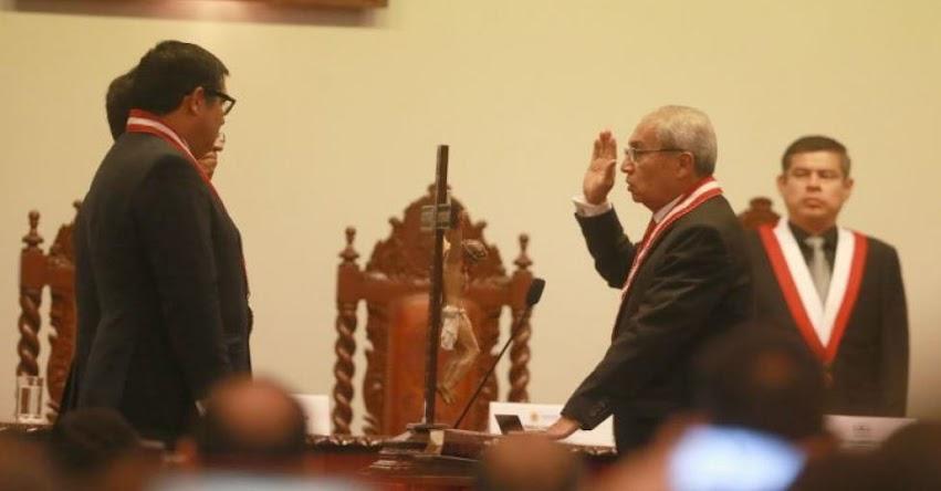 PEDRO CHÁVARRY: Cuestionado magistrado juramentó como nuevo Fiscal de la Nación