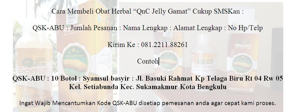 Penjual QnC Jelly Gamat Di Bengkulu